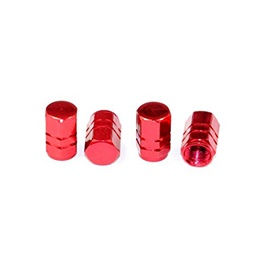 Tire / Tyre Air Valve Nozzle Caps | High Quality Aluminum Tyre Valve Caps | Wheel Tire Covered Protector Dust Cover-SehgalMotors.Pk
