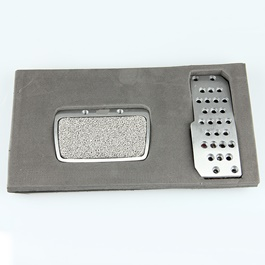 Honda Civic MUGEN Pedal Cover - Model 2007-2010-SehgalMotors.Pk