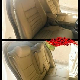 Japanese Rexine Extra Foaming Aspire Style Seat Covers