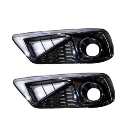 Honda Civic Fog Lamps / Fog Lights DRL Cover Nike Style - Model 2016-2020-SehgalMotors.Pk