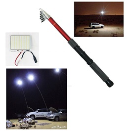Tourist Camping Light with Remote | COB LED Slim Work Light Tourist camping | Portable Work Light | Camping Light-SehgalMotors.Pk