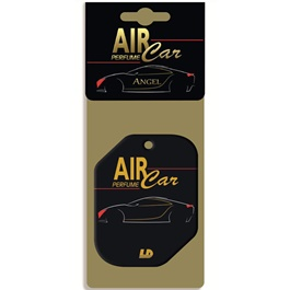 LD Air Perfume Card Black-SehgalMotors.Pk