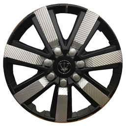 Wheel Cover ABS Black Silver 15 Inches - WG1-1SL-15-SehgalMotors.Pk