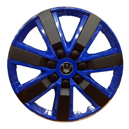 Wheel Cover ABS Black Blue 15 Inches - WG1-4BK-15-SehgalMotors.Pk