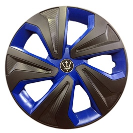 Wheel Cover ABS Black Blue 14 Inches - WK2-1BL-14-SehgalMotors.Pk