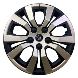 Wheel Cover ABS Black Silver 15 Inches - WA4-1SL-15-SehgalMotors.Pk