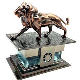 Lion Sculpture Dashboard Perfume China-SehgalMotors.Pk