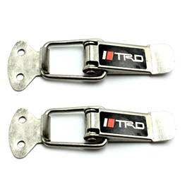 TRD Fender Clips Black Chrome-SehgalMotors.Pk