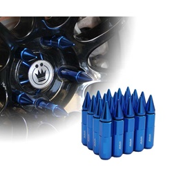 Rays Lug Nuts / Wheel Nuts / Wheel Screws Blue 1.5m-SehgalMotors.Pk
