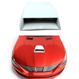 Air Flow For Car Hood Small Size White-SehgalMotors.Pk