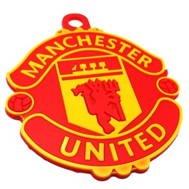 Manchester United PVC Hanging Red Yellow-SehgalMotors.Pk
