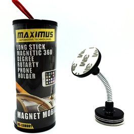 Maximus Long Stick Magnet Mobile Holder with Suzuki Logo-SehgalMotors.Pk