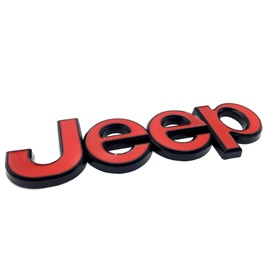 Jeep Monogram Red-SehgalMotors.Pk