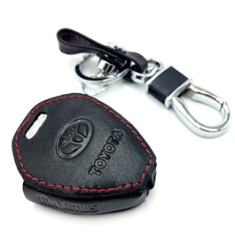Toyota Corolla Leather Key Cover 3 Button - Model 2000-2005