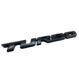 Turbo Logo Small Black-SehgalMotors.Pk