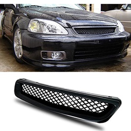 Honda Civic ABS Plastic Mesh Grille - Model 1997-1998