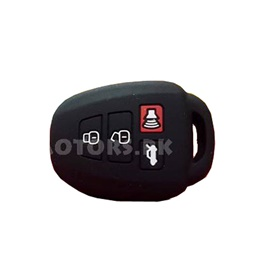 Toyota Corolla PVC / Silicone Protection Key Cover 4 Button - Model 2014-2015-SehgalMotors.Pk