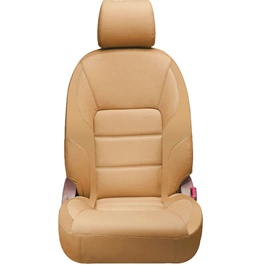 Toyota Corolla Seat Covers Brown Color - Model 2014-2017-SehgalMotors.Pk