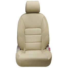 Toyota Corolla Seat Covers Beige Design 2 - Model 2014-2017-SehgalMotors.Pk