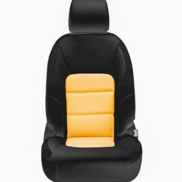 Honda Civic Seat Covers Black Brown Design 2 - Model 2016-2020-SehgalMotors.Pk