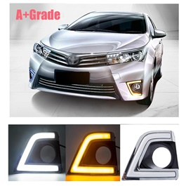 Toyota Corolla Smd USA Cob Drl Covers A Grade - Model 2017-2018