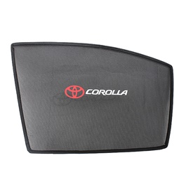 Toyota Corolla Side Sun Shade with Logo - Model 2017-2018
