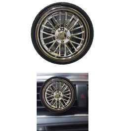 Tire Rim AC Grill Car Perfume Fragrance