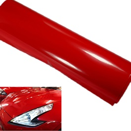 Red Vinyl Wrap Per Sq Ft | Car Vinyl Wrap Film | Car Wrapping | Vehicle Wrap-SehgalMotors.Pk