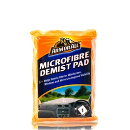 Armor All Shield Microfiber Demist Pad | Helps Demist Interior Windscreen, Windows And Mirrors To Improve Visibility | Gentle, Non-Scratch And Lint Free -SehgalMotors.Pk