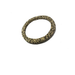 Leopard Fuzzy Steering Wheel Cover-SehgalMotors.Pk