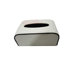 Fancy White Leather Car Tissue Box UK Style | Tissue Holder | Modern Paper Case Box | Napkin Container Tray | Towel Desktop | Tissue Holder | Modern Paper Case Box | Napkin Container Tray | Towel Desktop-SehgalMotors.Pk