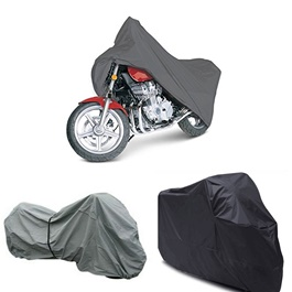 Waterproof & Dust Proof Motorcycle Bike Cover - Multicolor-SehgalMotors.Pk