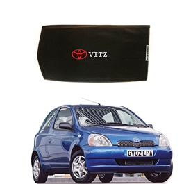 Toyota Vitz Side Sunshade / Sun Shades with Logo - Model 1998-2004-SehgalMotors.Pk