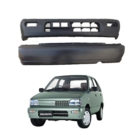 Suzuki Mehran Euro II Front and Rear Bumper - Model 2012-2017-SehgalMotors.Pk
