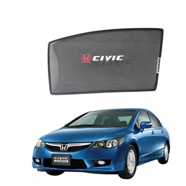 Honda Civic Side Sunshade / Sun Shades with Logo - Model 2006-2012-SehgalMotors.Pk