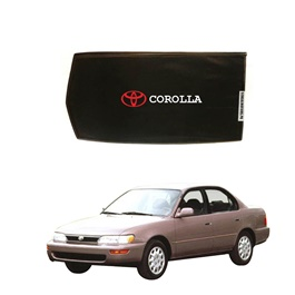 Toyota Corolla Side Sun Shades with Logo - Model - 1994-2002-SehgalMotors.Pk