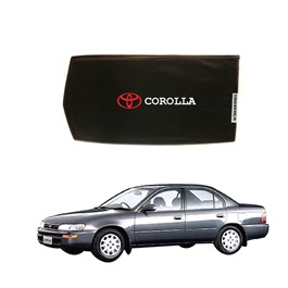 Toyota Corolla Side Sun Shades with Logo - Model 1991-1995-SehgalMotors.Pk