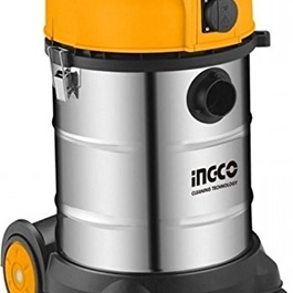 Ingco Wet and Dry Series Vacuum 30L | Remove Dust | Commercial And Home Use| Interior Cleaning Gadget-SehgalMotors.Pk