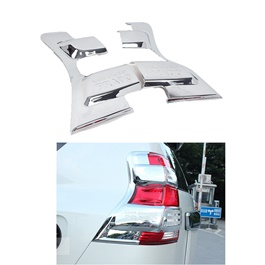 Toyota Prado Back lights Chrome Bazel 2pc - Model 2009-2017-SehgalMotors.Pk