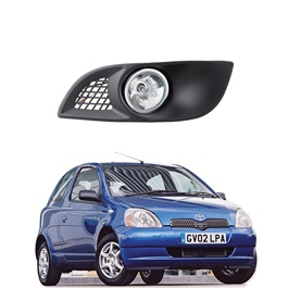 Toyota Vitz Pentair Fog Lamps / Fog Lights TY-501 - Model 1998-2004-SehgalMotors.Pk