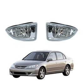 Honda Civic CF4 DLAA Fog Lamps / Fog Lights - Model 2005-2006 - Hd031-SehgalMotors.Pk