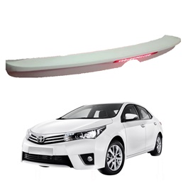 Toyota Corolla LED Spoiler Model - 2014-2017 | Trunk Spoiler | Baggage Spoiler Decorative Cover-SehgalMotors.Pk