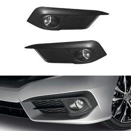 Honda Civic Fog Lamps - Model 2016-2019 - HD952-SehgalMotors.Pk