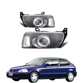 Honda Civic Fog Lamps - Model 1992-1996-SehgalMotors.Pk