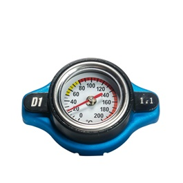 Radiator Cap with Temperature Gauge-SehgalMotors.Pk