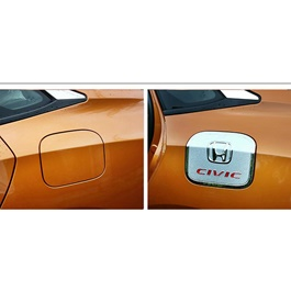 Honda Civic Fuel Chrome Cover - Model 2016 - 2018-SehgalMotors.Pk