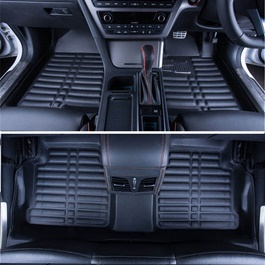 Toyota Corolla 5D Custom Floor Mat Black - Model 2008-2014-SehgalMotors.Pk