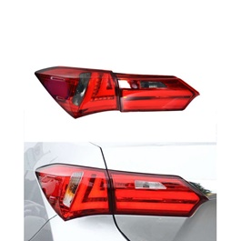 Toyota Corolla Back Lava Light Red And Black - Model 2014-2017-SehgalMotors.Pk