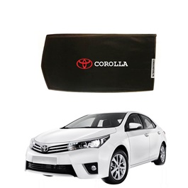 Toyota Corolla Side Sunshade / Sun Shades with Logo - Model 2014-2017-SehgalMotors.Pk