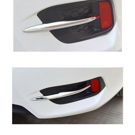 Honda Civic Rear Brake Chrome Trim - Model 2016-2020 MA001582-SehgalMotors.Pk